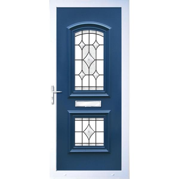 Upvc doors panels e5034 door panel with stainless steel for Upvc window repairs