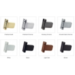 pro secure door hinge finishes