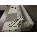 door kickplate dimensions