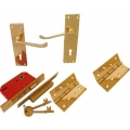 Brass External Door Kit