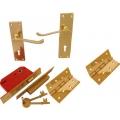 Brass External Door Kit