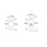 cable restrictor dimensions