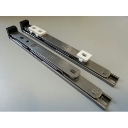 Window Hinge Packer Oval 4mm