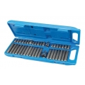 Hex, T20 - T55 & Spline Bit Set 40pce