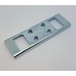 Universal Double Shootbolt Striker Plate