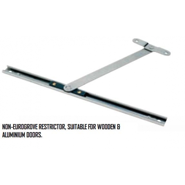 Aluminium and wooden window door restrictor arm for Door restrictor