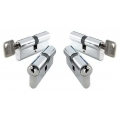 1 x Euro Lock Door Cylinders / Door Barrels 55/50