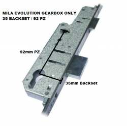 Mila Evolution Centre Door Lock Gearbox