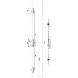 Mila Master 3 Deadbolt Door Lock