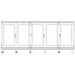 bi fold door system