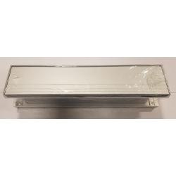 Midrail Silver Satin Letterbox