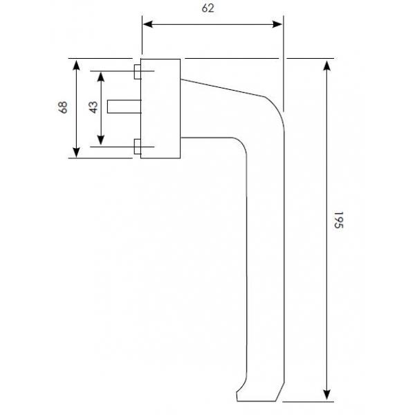 Tilt And Slide Patio Door Handle