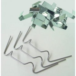 100 x Greenhouse Glass Clips