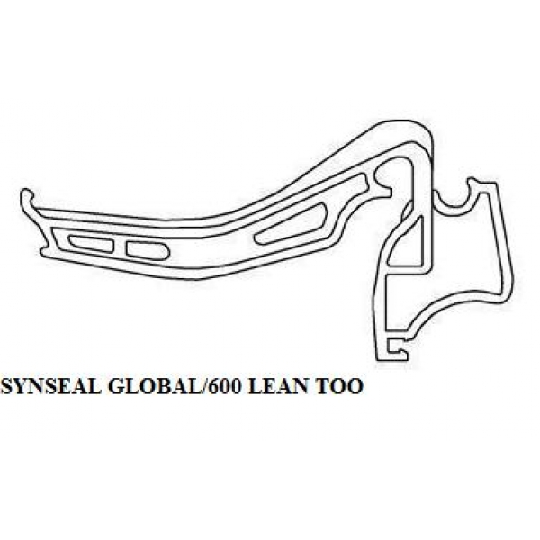 Synseal Global 600 Lean To Gutter Brackets Xgc4 Pack Of 5