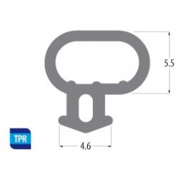 Option 1: Bubble Seal Window Gasket / Door Gasket (White)