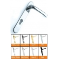 Pro 92pz Upvc Door Handles Chrome