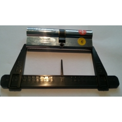 Euro Door Cylinder Measuring Tool