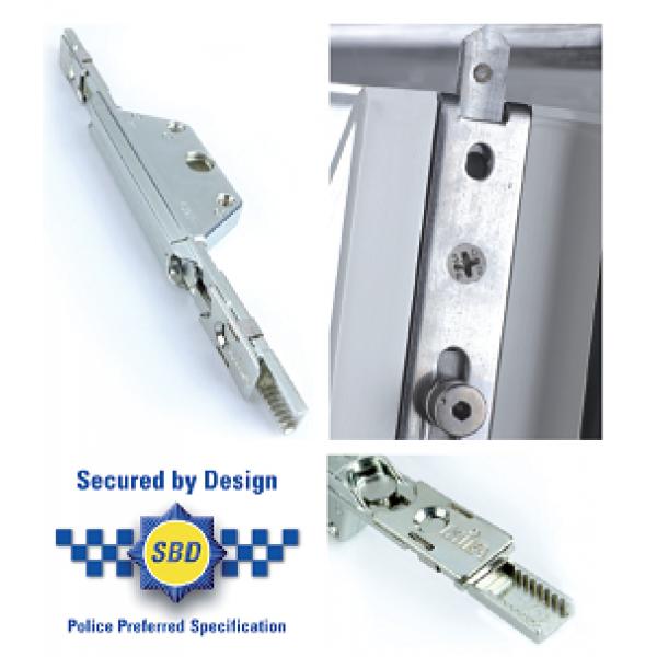 Pair GU Upvc Window Lock Shootbolt Rods Size 4 8mm Cam