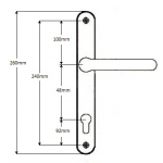48 240 lever lever handles