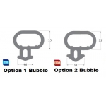 option one option two window bubble seal