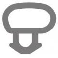 Option 3: Bubble Seal Window Gasket / Door Gasket