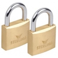 Keyed Alike Brass Padlock