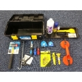 Toolbox with Various Trade Tools Bargain