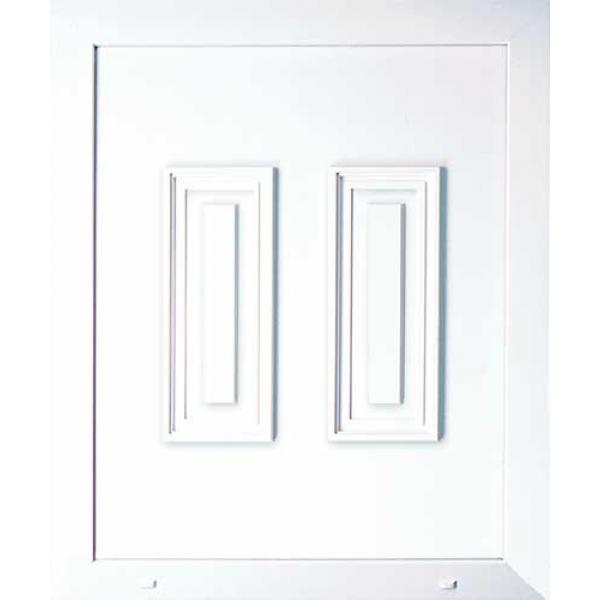 Pvc Door Parts : Upvc half door panel inserts