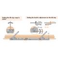 Siegenia Tilt and Slide Patio Door Stay Arm PSK 160