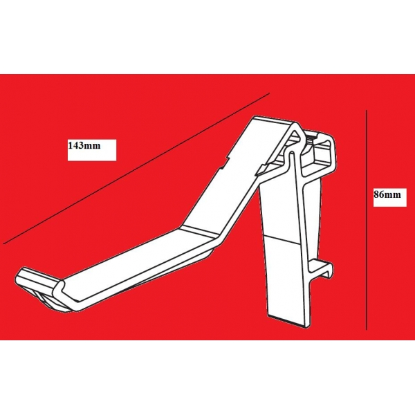 Ultraframe Mgbb001 Gutter Brackets Pack 5
