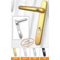 Ideal 92pz Door Handles Silver