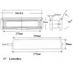 letterbox 12 dimensions