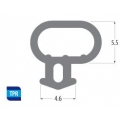 Option 1: Bubble Seal Window Gasket / Door Gasket (Black)