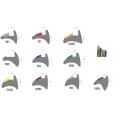 Glazing Wedge Gasket Sample Pack (Various)