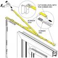 SI Siegenia Tilt & Turn Drive Gear Scissor Stay Arm SS/5