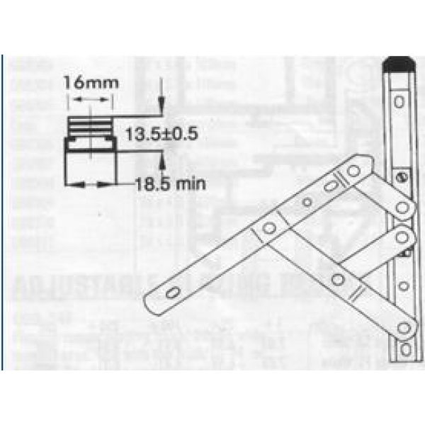 16 u0026quot  egress easy clean window friction hinges  pair