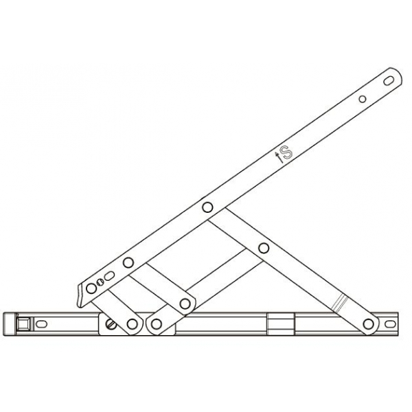 16 Quot Egress Easy Clean Window Friction Hinges Pair